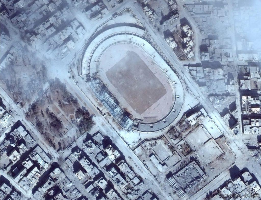 Rakká - fotbalový stadion - Říjen 2017