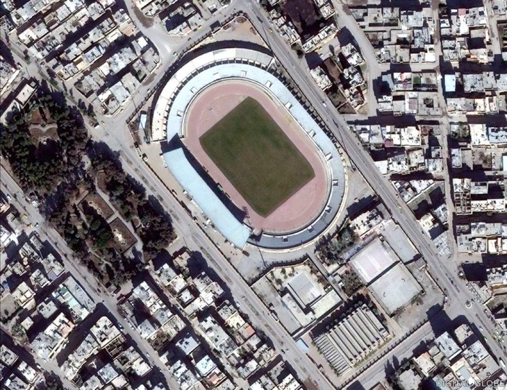 Rakká - fotbalový stadion - Únor 2014