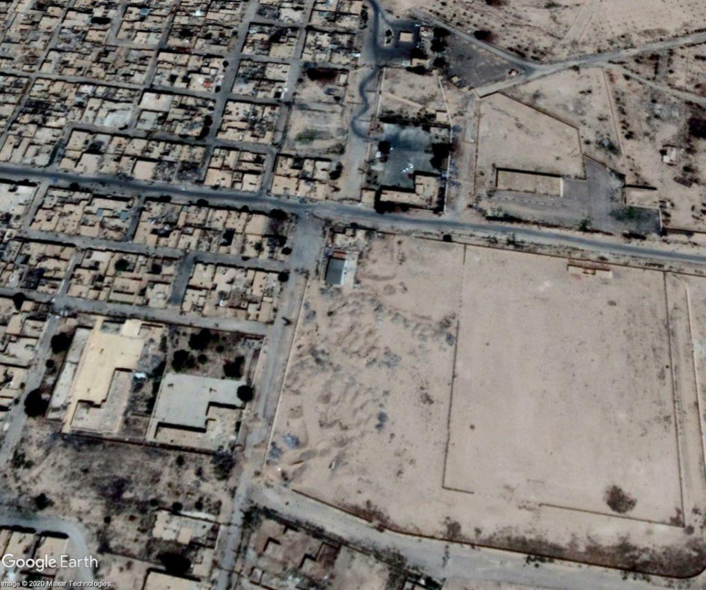 Palmýra - centrum města - Červenec 2018