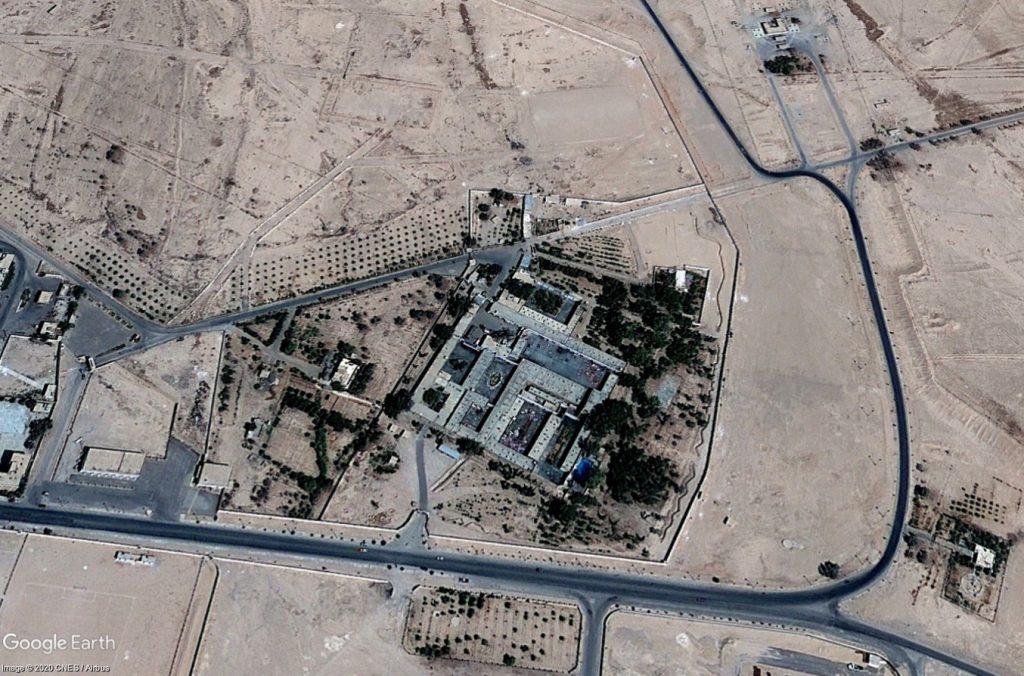 Palmýra - letiště - Srpen 2010